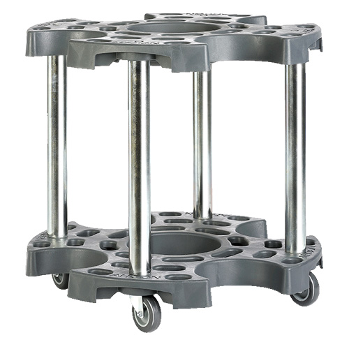 WHEEL TROLLEY EXTENDED W/2 LOCKING CASTERS